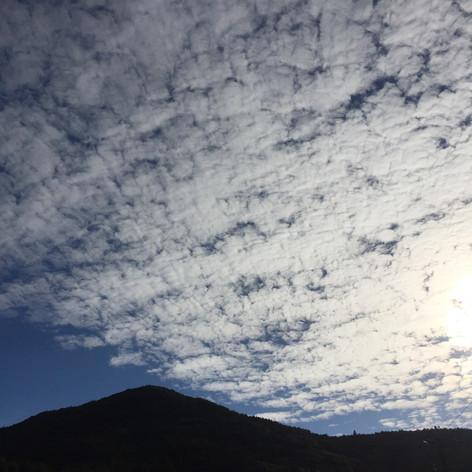 ひろんたの空も、色々な表情を見せてくれます