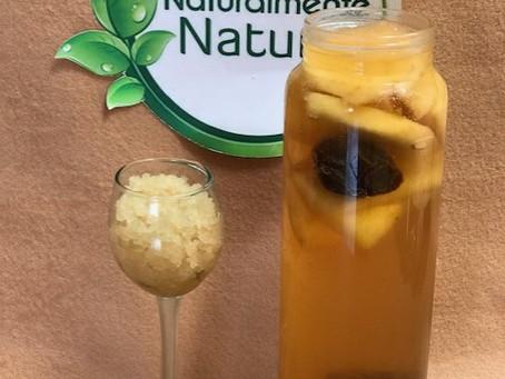 KEFIR DE AGUA. Primera y segunda fermentación.