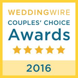 WeddingWire Couples' Choice Awards 2016