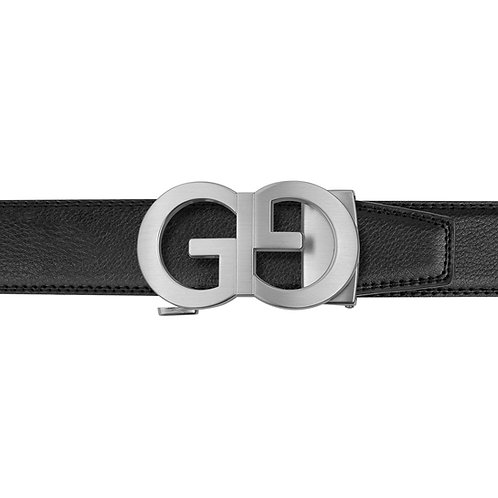 21-27  Leather  Buckle Track Belt