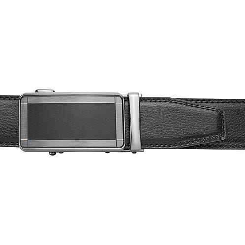DEC20-20 Leather Buckle Track Belt