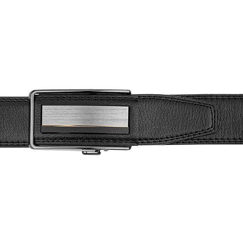 DEC20-22  Leather  Buckle Track Belt