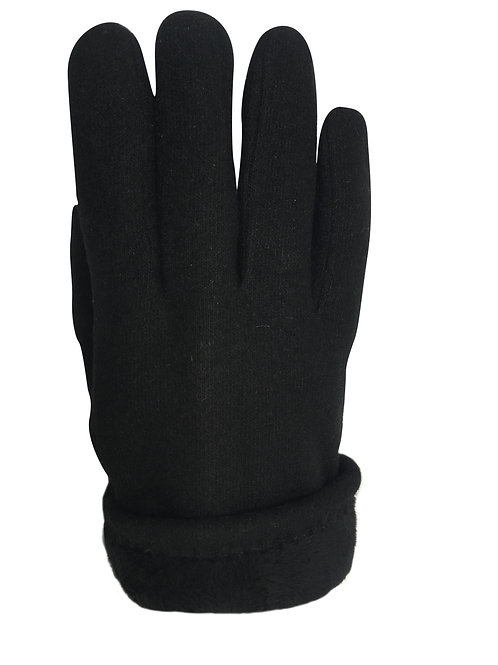 Wool & Leather Gloves
