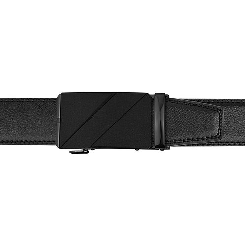 21-30  Leather  Buckle Track Belt
