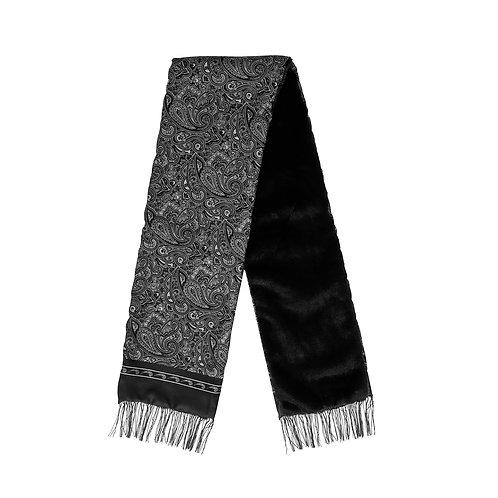 Silk & Fur #1 Black & Grey
