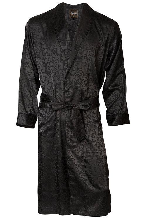 Robe - Dobby Fabric - Paisley Design