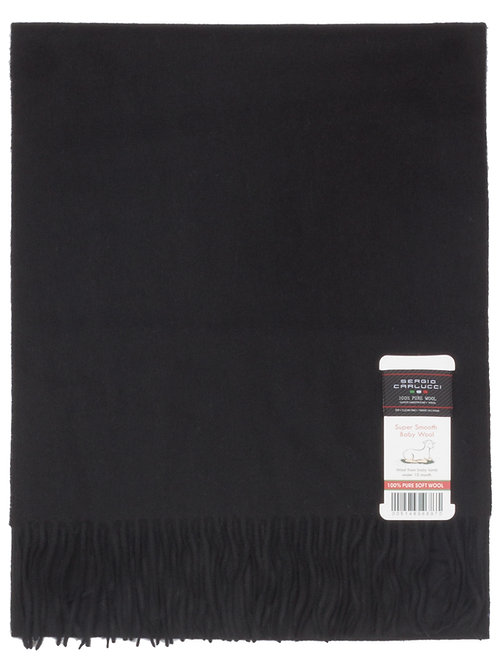Style #20 Baby Wool - Solid Black
