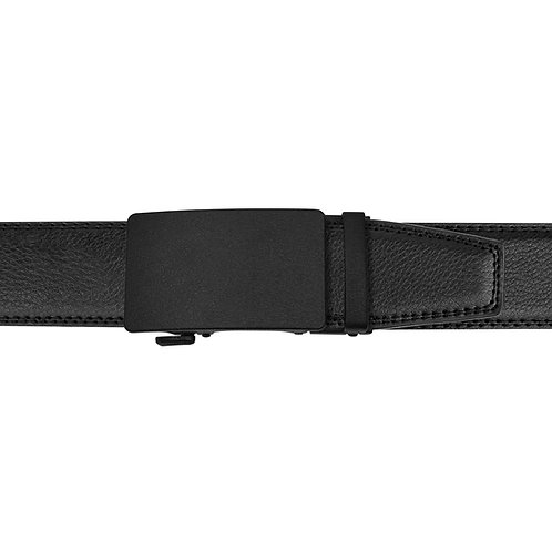 21-37 Leather Buckle Track Belt