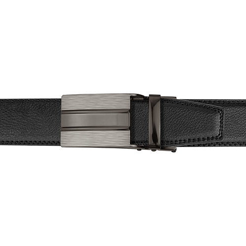 21-26  Leather  Buckle Track Belt