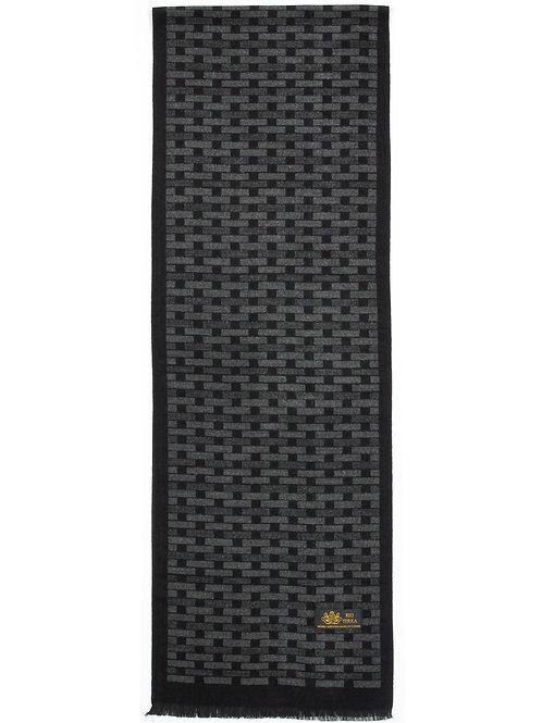 Style #2020D Cotton Black & Grey Brick Style