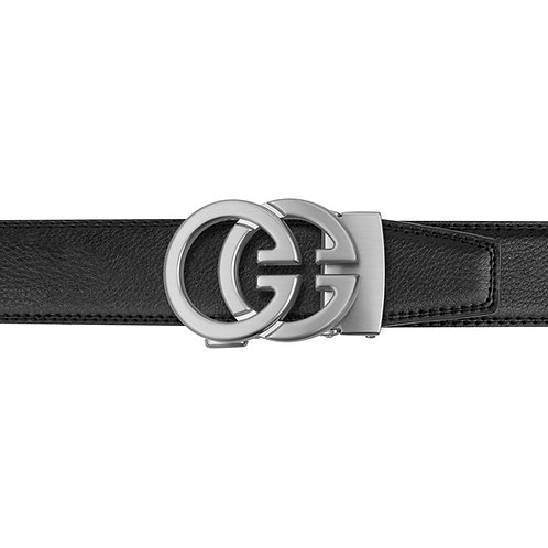 21-28 Leather Buckle Track Belt