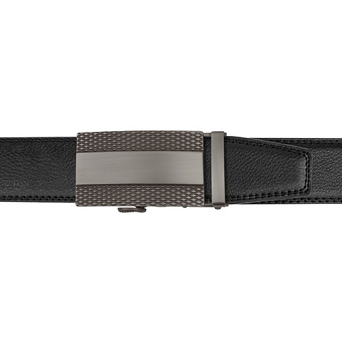 21-34 Leather Buckle Track Belt