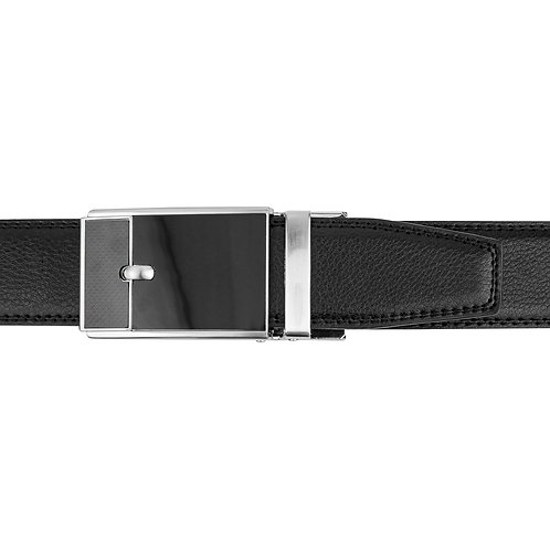 DEC20-16  Leather  Buckle Track Belt