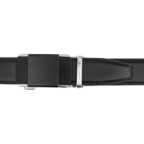 DEC20-21  Leather  Buckle Track Belt
