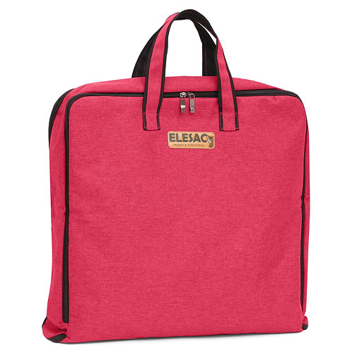 Garment Bag - Berry Red