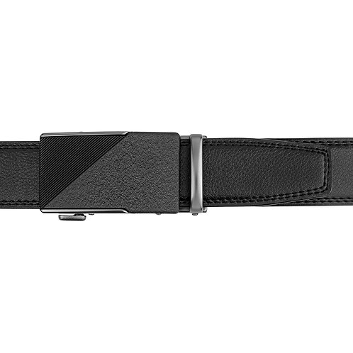 DEC20-24  Leather  Buckle Track Belt