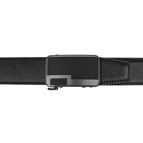 21-33 Leather Buckle Track Belt