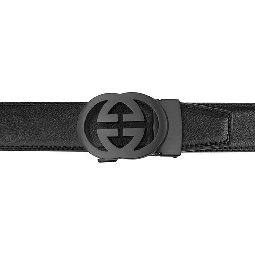 21-29 Leather Buckle Track Belt