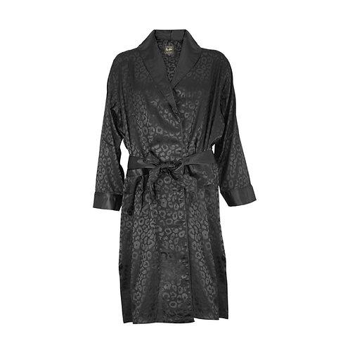 Robe - Dobby Fabric - Leopard Design
