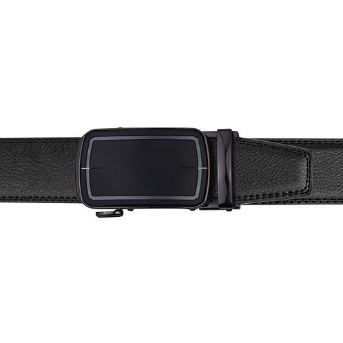 21-36 Leather Buckle Track Belt