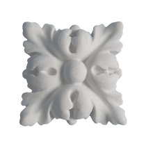 Boss Flower Leaf Architectural Moulding