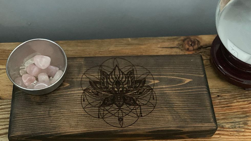 Seed of Life Lotus Sacred Geometric Grid