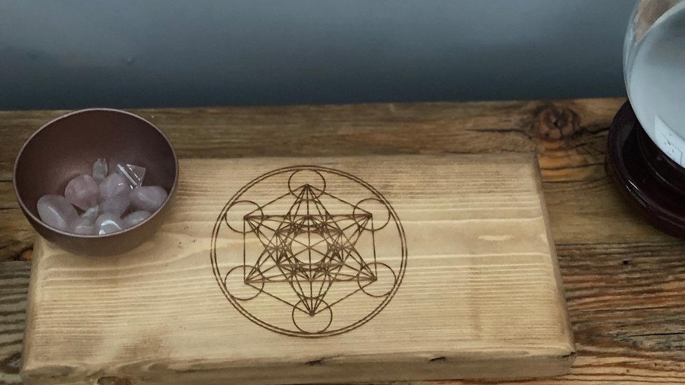 Metatrons Cube Sacred Geometric Grid