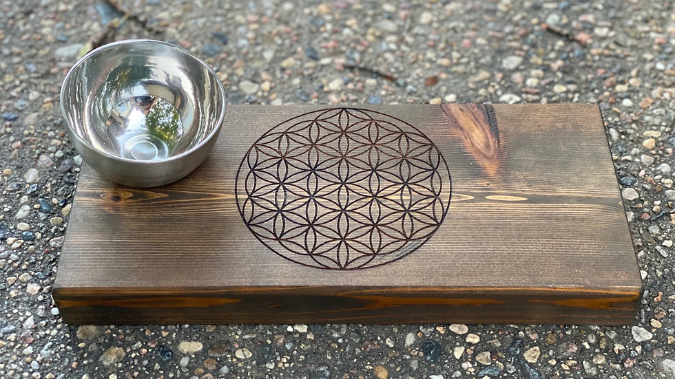 Flower of Life Sacred Geometry Grid