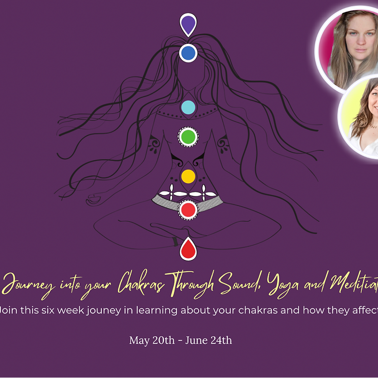 A Journey into your Chakras Through Sound Yoga and Meditation