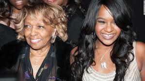 Bobbi with her grandmother, Cissy