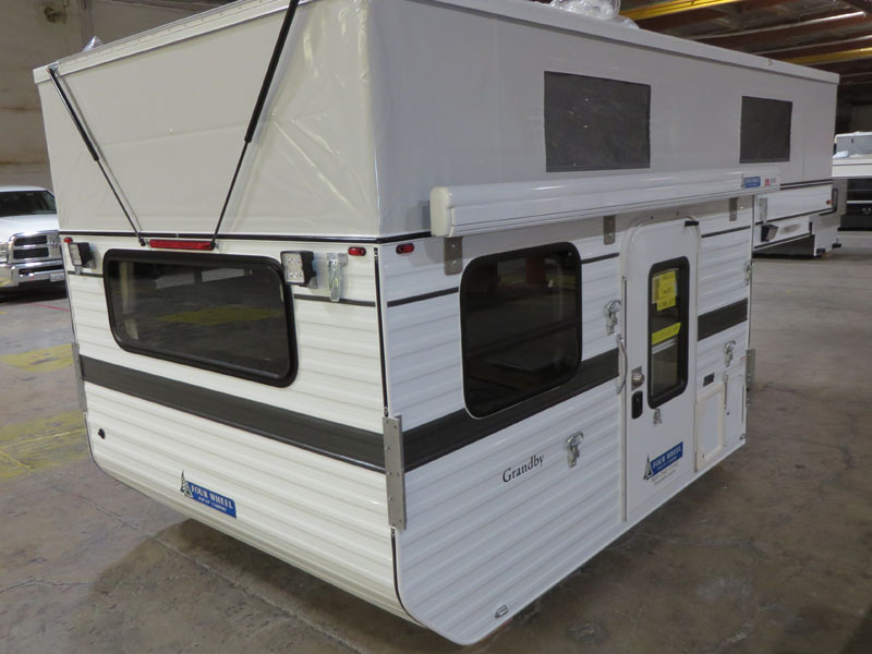 flat-bed-popup-truck-camper-floorplan-grandby-ford-chevy-dodge-gmc-exterior-passenger-side