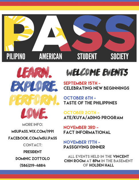 Welcome Event Flyer