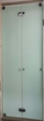 Bi fold glass Door