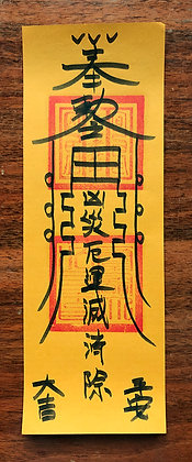 Prevention of Disease and Disaster Blessing Talisman