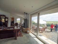 Open, bright, floor to ceiling windows