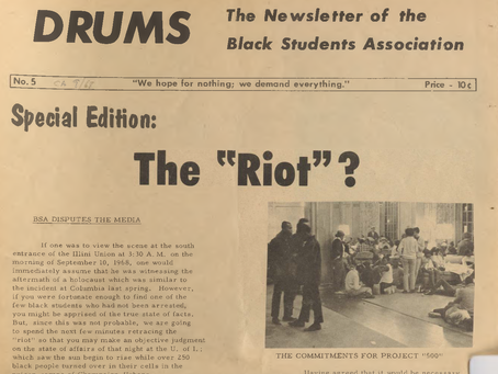 Mass Arrest of Black UIUC Students - 50 years later