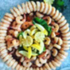 custom seafood platter