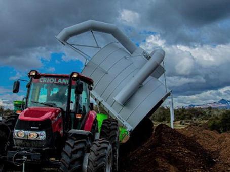 Un tractor Case IH proporciona fuerza y resistencia en el sur argentino