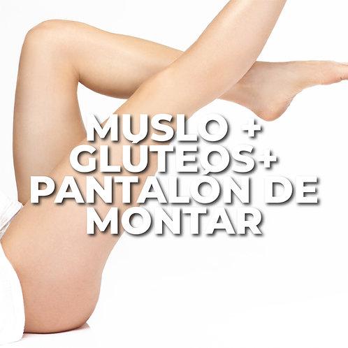 Muslo + Glúteos + Pantalón de Montar | 6 Sesiones