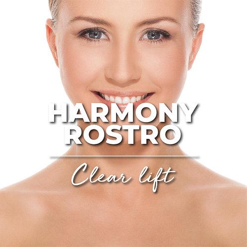 1 Sesión | Harmony Rostro + Clear Lift