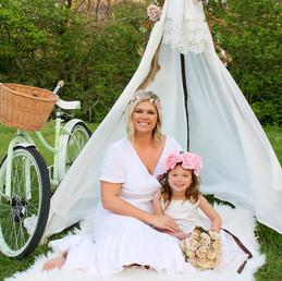 Mommy & Me- Julia & Jillian