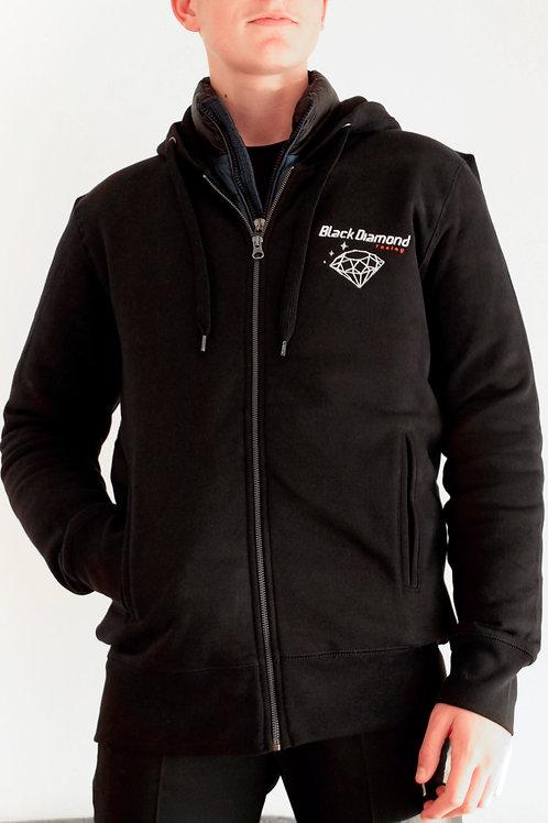 Veste sweatshirt à capuche homme