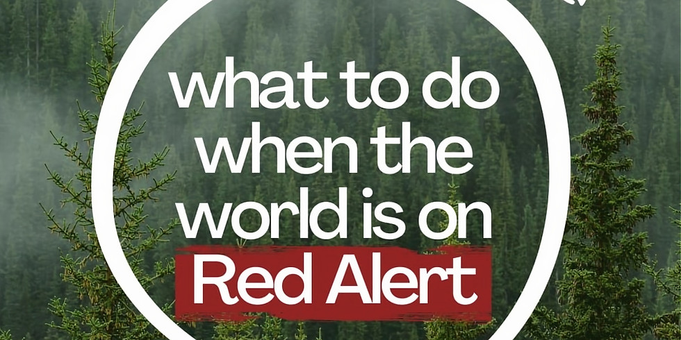 """What to Do When the World is on """"Red Alert"""""""