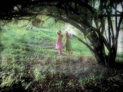 Princesses exploring