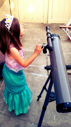 Princess and her Telescope
