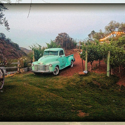 Truck at Winery