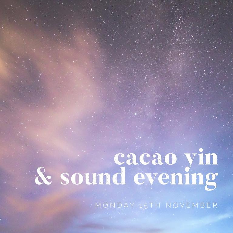 November Full Moon Cacao, Yin & Sound Evening