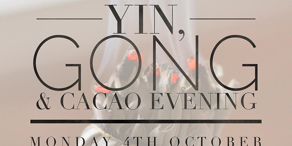 New Moon Yin, Gong & Cacao Evening