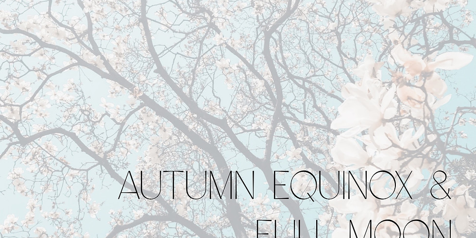 Autumn Equinox Full Moon Gong Bath