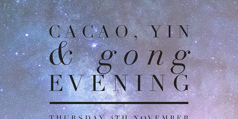 New Moon Cacao & Gong Evening